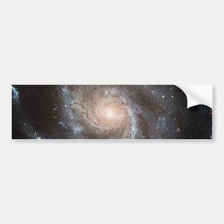 Spiral galaxy bumper sticker