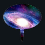 """Spiral galaxy cake topper<br><div class=""""desc"""">Space photos</div>"""