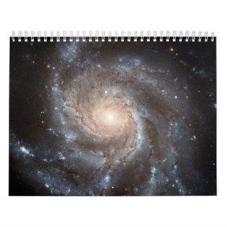 spiral galaxy wall calendars