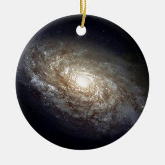 Spiral Galaxy Ceramic Ornament