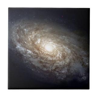 Spiral Galaxy Ceramic Tile