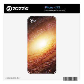 Spiral galaxy decals for the iPhone 4