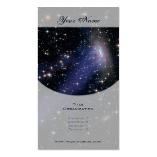 Spiral Galaxy ESO 137-001 Business Card Templates