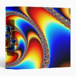 Spiral Galaxy - Fractal Art Binder