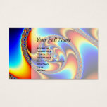 Spiral Galaxy - Fractal Art Business Card