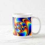 Spiral Galaxy - Fractal Art Coffee Mug