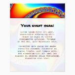 Spiral Galaxy - Fractal Art Flyer