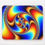 Spiral Galaxy - Fractal Art Mouse Pad