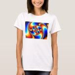 Spiral Galaxy - Fractal Art T-Shirt