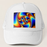 Spiral Galaxy - Fractal Art Trucker Hat