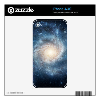 Spiral galaxy iPhone 4 skins