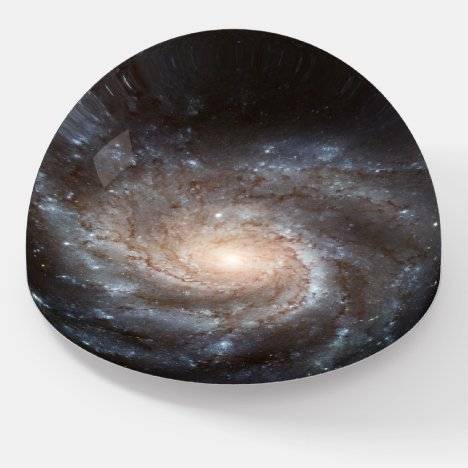 Spiral Galaxy (M101) Dome Paperweight