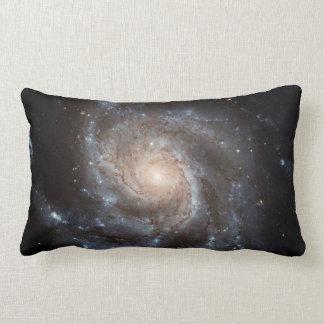 Spiral Galaxy (M101) Lumbar Pillow