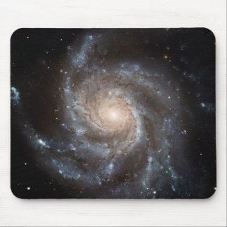 Spiral Galaxy (M101) Mouse Pad