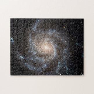 Spiral Galaxy (M101) Puzzle