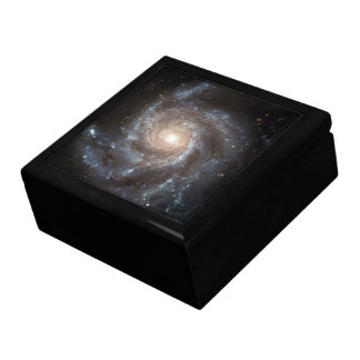 Spiral Galaxy (M101) Trinket Box