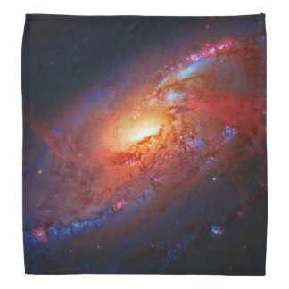 Spiral Galaxy M106 in Canes Venatici Bandana