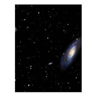 Spiral Galaxy M106 Postcard