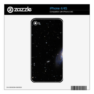Spiral Galaxy M106 Skin For iPhone 4S