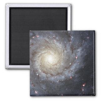 Spiral galaxy M74 2 Inch Square Magnet