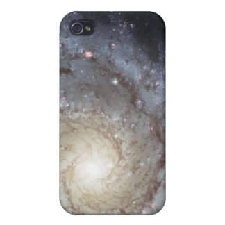 Spiral galaxy M74 Cases For iPhone 4