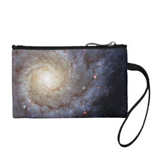 Spiral Galaxy M74 (Hubble) Coin Wallet