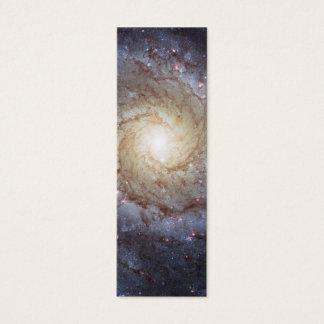 Spiral Galaxy M74 (Hubble) Mini Business Card
