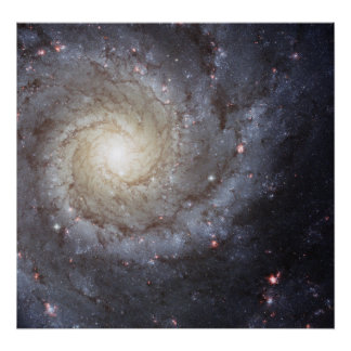 Spiral Galaxy M74 Posters