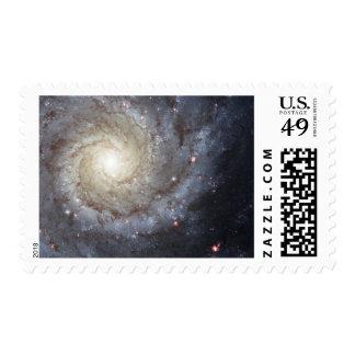 Spiral galaxy M74 Stamp