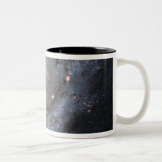 Spiral galaxy M74 Two-Tone Coffee Mug