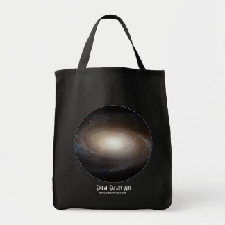 Spiral Galaxy M81 Tote Bags