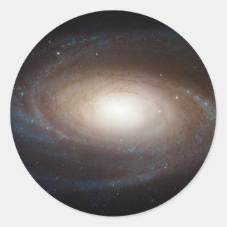 Spiral Galaxy M81 Classic Round Sticker