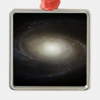 Spiral Galaxy M81 Metal Ornament