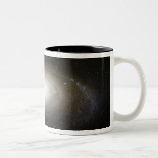 Spiral Galaxy M81 Two-Tone Coffee Mug