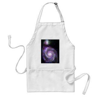 Spiral Galaxy M-51 Adult Apron