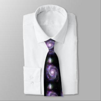 Spiral Galaxy M-51 Tie