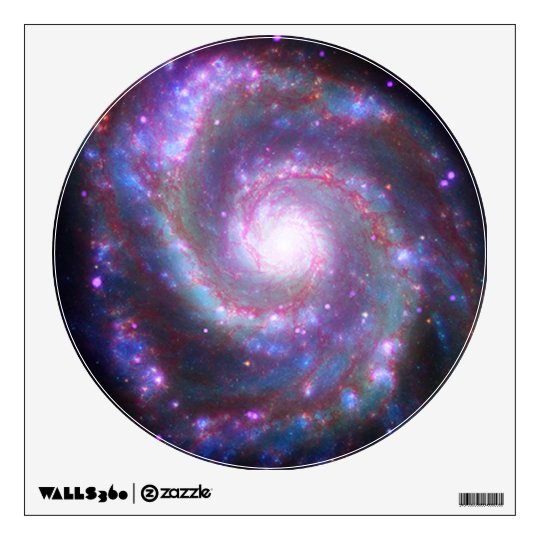 Spiral Galaxy M-51 Wall Sticker