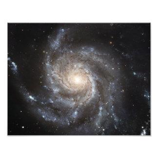 Spiral galaxy Messier 101 Photo Print
