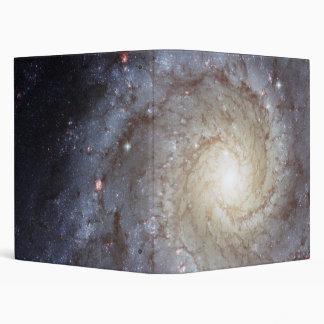 Spiral Galaxy Messier 74 NGC 628 3 Ring Binder