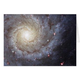 Spiral Galaxy Messier 74 NGC 628 Card