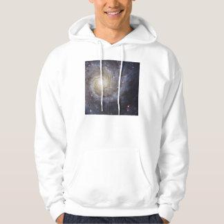 Spiral Galaxy Messier 74 NGC 628 Hoodie
