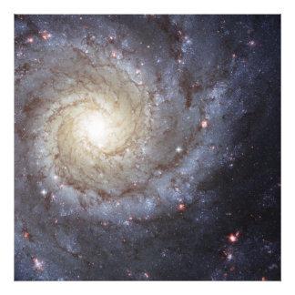 Spiral Galaxy Messier 74 NGC 628 Photo Print