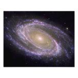 Spiral galaxy Messier 81 Art Photo