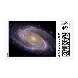 Spiral galaxy Messier 81 Postage