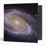 Spiral galaxy Messier 81 Vinyl Binders