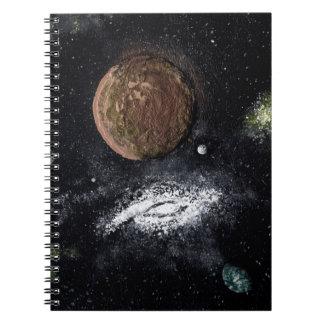 SPIRAL GALAXY NEXT DOOR (an outer space design) ~ Notebook