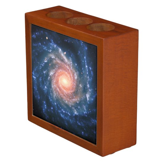 Spiral Galaxy NGC 1232, Amazing Universe Images Pencil/Pen Holder