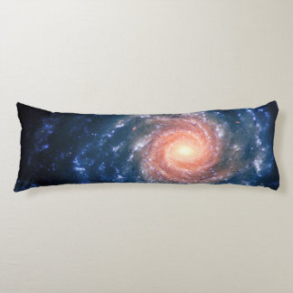 Spiral galaxy NGC 1232 astronomy picture Body Pillow