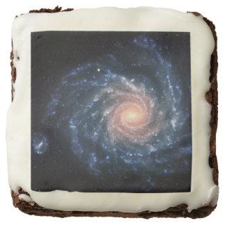 Spiral galaxy NGC 1232 Brownie