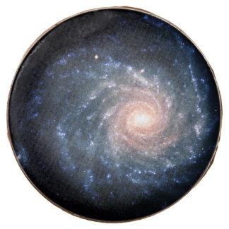 Spiral galaxy NGC 1232 Chocolate Covered Oreo